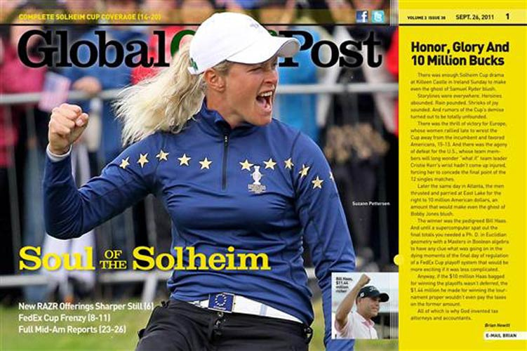 Global Golf Post - 26 September 2011