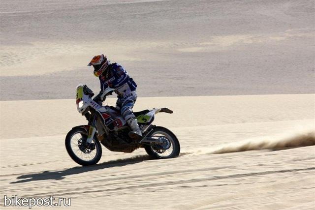 Результаты второго этапа ралли Фараонов 2011