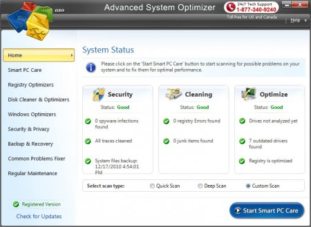 Advanced System Optimizer 3.5.1000.14284