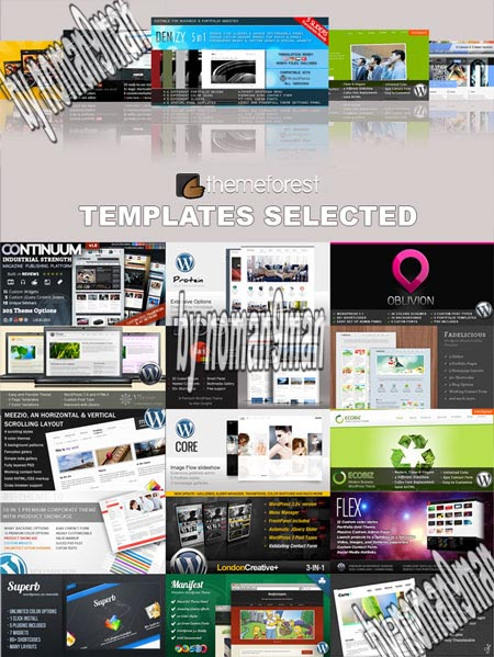 Premium Templates ThemeForest Selected Vol-2