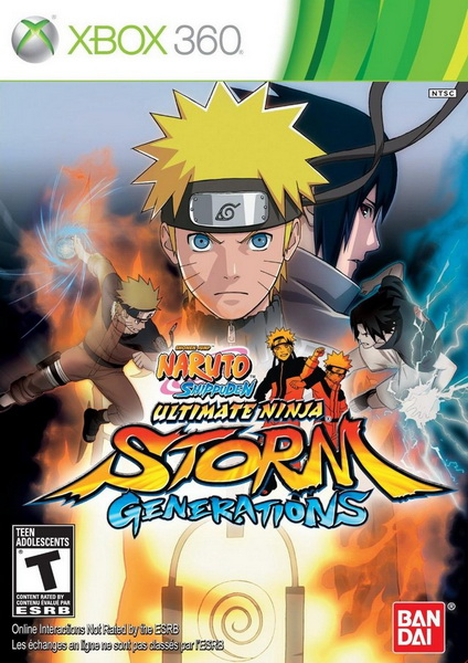Naruto Shippuden: Ultimate Ninja Storm Generations (LT+3.0) (2012/NTSC-U/ENG/XBOX360)