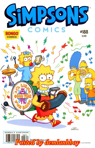 Simpsons Comics 188 (2012)