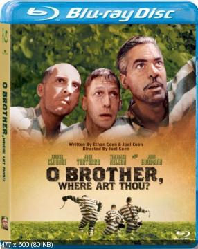 О, где же ты, брат? / O Brother, Where Art Thou? (2000) BDRip 720p