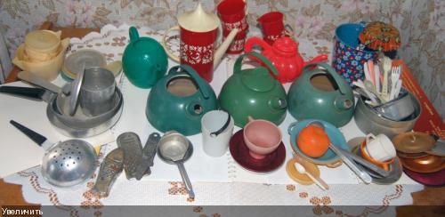 Как сделать детскую посуду