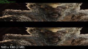 Тор в 3Д / Thor 3D (2011) BDRip 1080p / 8.27 Gb [Half OverUnder / Вертикальная анаморфная стереопара]