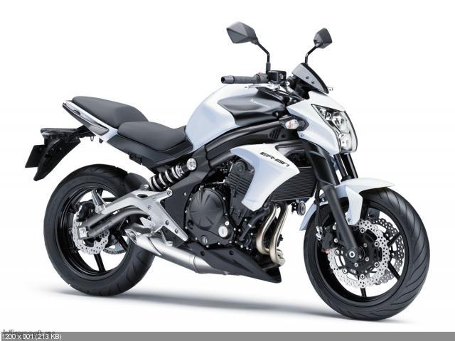 Обновленный мотоцикл Kawasaki ER-6n 2012