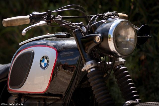 Кастом BMW R75/5 1972