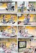 Прикольные карикатуры и небольшие комиксы для взрослых (октябрь 2011)