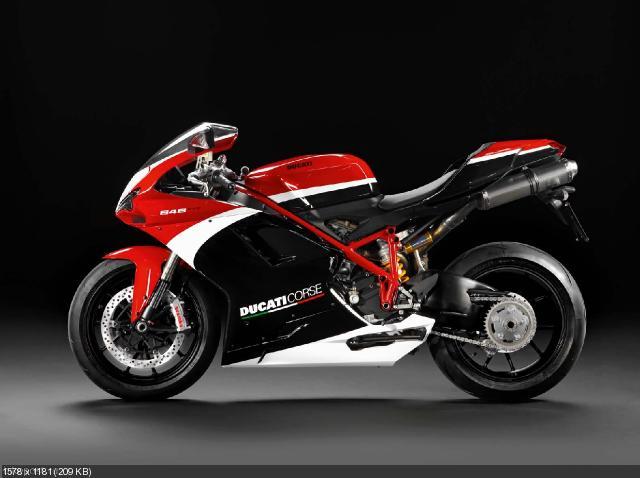 Спортбайк Ducati 848 EVO Corse Special Edition 2012