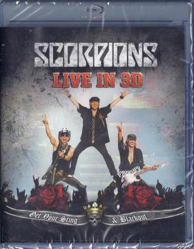 Scorpions: Live - Get Your Sting & Blackout (2011) Blu-ray 3D 1080p AVC DTS-HD 5.1