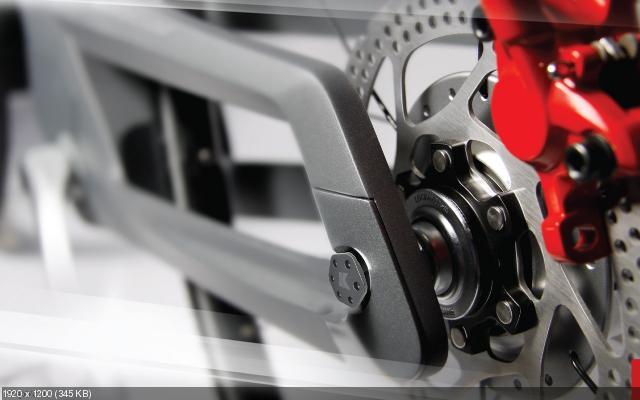 Концепт электрического велосипеда E-motion