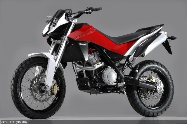 Концепт мотоцикла Husqvarna Strada
