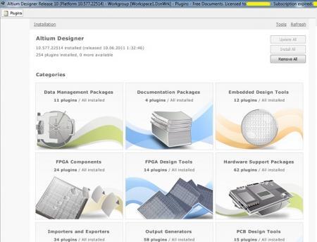 Altium Designer [ v.10.771.23139, x86, 23.11.2011, ENG + RUS ]