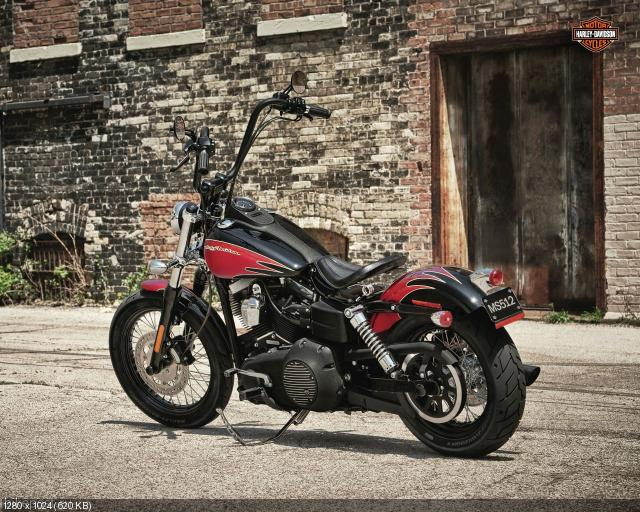 Мотоцикл Harley-Davidson Street Bob 2012