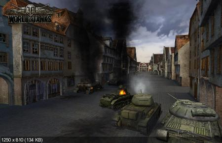World of Tanks / Мир танков v.0.7.0 (2011/RUS/PC)