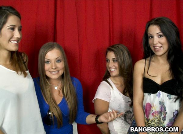 Lola Foxx, Bella Rose, Eva Lovia, Mercedes Lynn (Stairway To Heaven / ls9372 / 01.12.2011) [PartyofThree.com / BangBros.com]