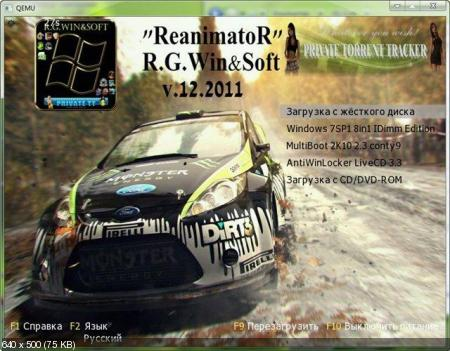 ReanimatoR v.12.2011 by R.G.Win&Soft (2011/RUS)