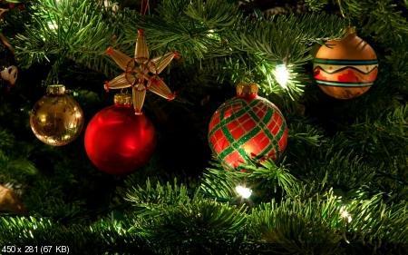 Обои к Рождеству и Новому году. Часть #5