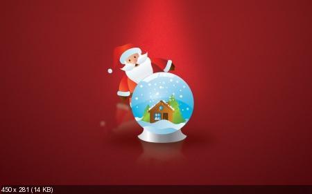 Обои к Рождеству и Новому году. Часть #8