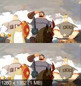 Три богатыря и Шамаханская царица 3D (2010) BDRip 720p