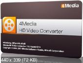 4Media HD Video Converter 7.0.1 Build 1219 (Multi/Ru)