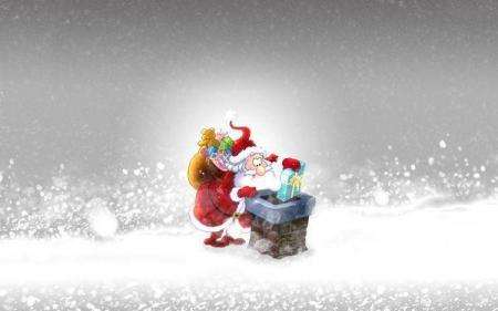 Новогодние и рождественские обои на 2012