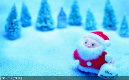"""Новогодние обои """"Marrry Christmas"""""""