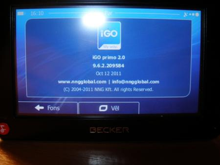 Igo Primo [ v.2.0, for Becker Z series 2.0, Europe, 2011 ]
