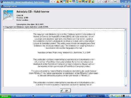Autodata [ v. CDA3.38, Eng, 2011]