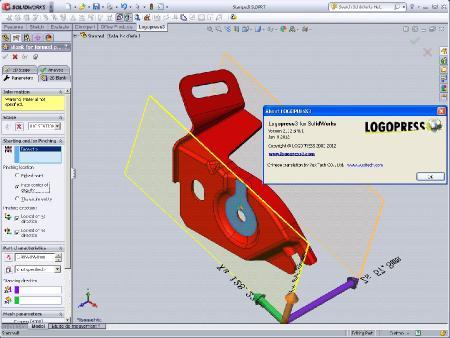 Logopress3 [ v.2012 SP0.1, for SolidWorks, 2011 - 2012, x86 + x64, Multilang � Rus ]