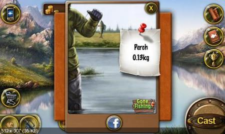 Gone Fishing (1.3.4) [��������� �������, RUS] [Android]