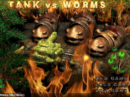 Tank vs Worms v1.0 (2012/ENG)