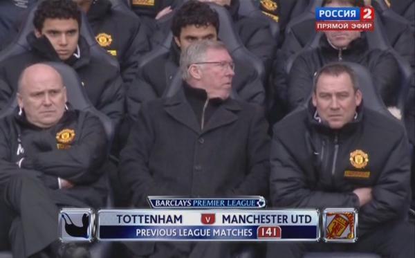 Чемпионат Англии 2011-2012 / 27-й тур / Тоттенхэм Хотспур - Манчестер Юнайтед