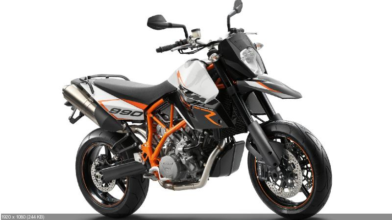 Мотоцикл KTM 990 Supermoto R 2012