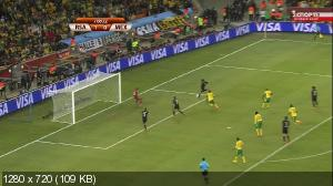 Футбол. Чемпионат мира 2010. Сборник всех Голов / South Africa 2010: All Goals (2010) HDTV 1080i + HDTVRip 720p + HDTVRip