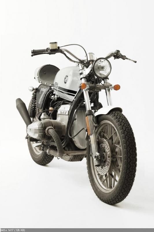 Переделанный мотоцикл BMW R100RS от Fuel Bespoke Motorcycles